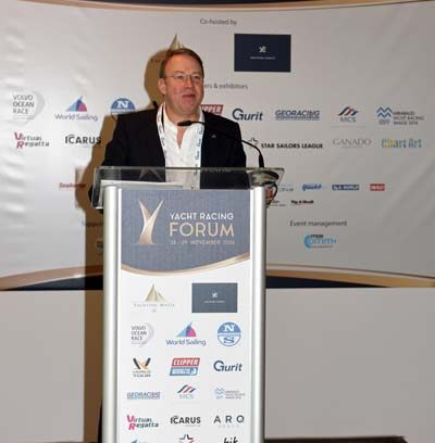 Yacht Racing Forum 2016 - Malta Andy Hunt CEO World Sailing