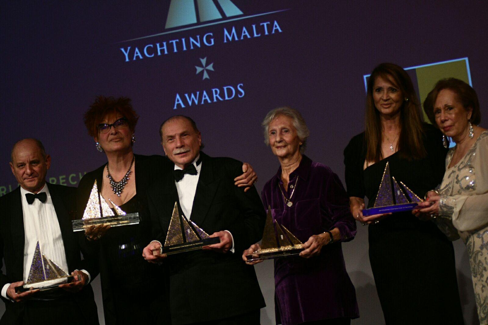 2017 Yachting Award Winners